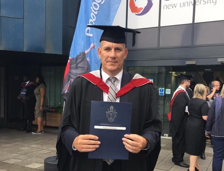 Adrian Kent Graduation